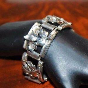 Sterling Swedish GK Gustav Karlskrona Bracelet BRD